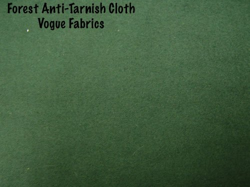 Anti-Tarnish Silver Cloth - Forest Green (Silver Protection Cloth compare prices)