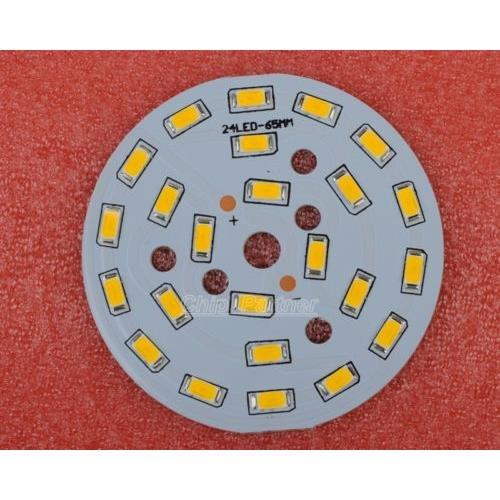 12W 5730 Warm White Led Light Emitting Diode Smd Highlight Lamp Panel 65Mm