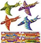 12x Dinosaur Gliders (4 Assorted Desi...