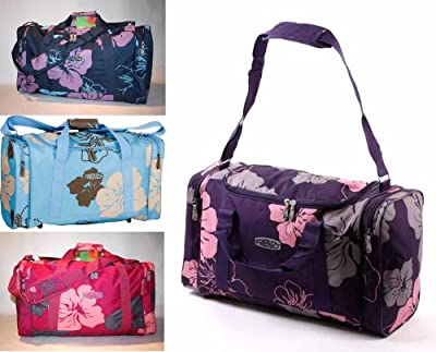 Ladies Holdall Hand Luggage Cabin Flight Beach Bag Gym Sports Maternity Womens Bag