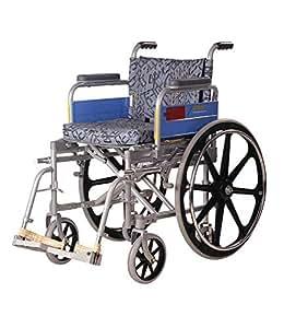 Vissco Invalid Wheel Chair Deluxe / Folding / Mag Wheels