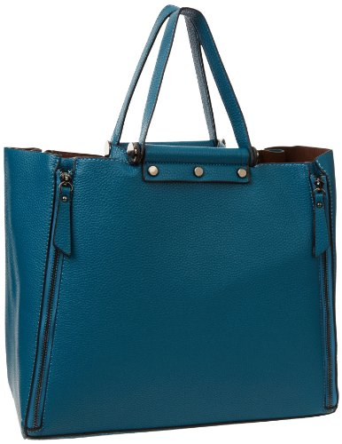 Sydney Love Pebbled Large Tote,Blue,One Size