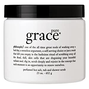 philosophy pure grace hot salt rub and shower scrub 23 oz (652 g)