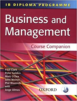 Business Administration ib subject