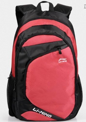 Chinese Best Famous Sports Brand Li-Ning Laptops Backpack Computer Notebook Tablet,Knapsack,Rucksack Swiss Gear Army Knife Bag Comfortable Back Panel Ergonomic Shoulder Straps For Man Woman Travelling,Camping,Hiking, School Waterproof Jb001-7 (Jb002-Red)