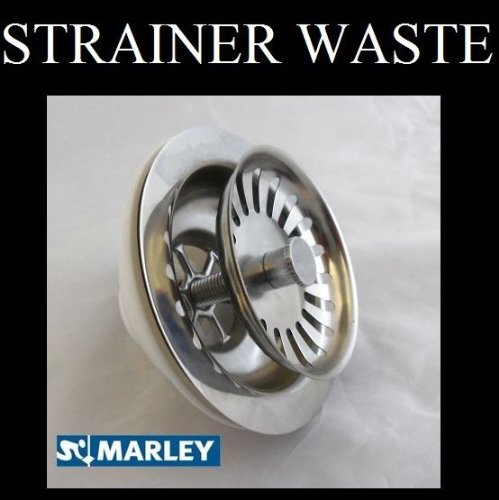 90mm Stainless Kitchen sink basket strainer waste. Marley KBS4XR