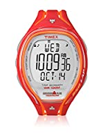 TIMEX Reloj de cuarzo Man Ironman Sleek 250-Lap Naranja 45 mm