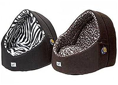 Ardisle LUXURY CAVE PLUSH CAT/DOG IGLOO PET BED WARM HOUSE/MAT/SNUG PUPPY/KITTEN/BEDDING