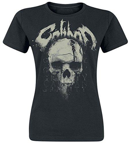 Caliban Gravity Skull Maglia donna nero M