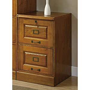 Coaster Home Furnishings 5317N Traditional File Cabinet, Oak