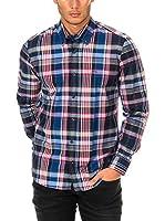 Mc Gregor Camisa Hombre (Azul / Rojo)