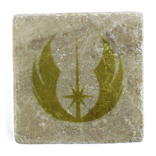STAR WARS: Cavalieri Jedi per marmo e piastrelle, sottobicchiere (Crema)