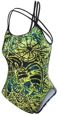Amazon.com : Nike Women's Batik Spider Back Swimsuit