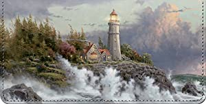 Thomas Kinkade's Lighthouses Checkbook Cover