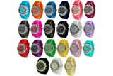 Wholesale 12 Assorted Geneva Platinum Womens watch 6886