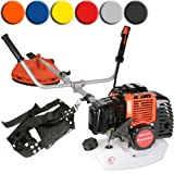 Timbertech� MS49-2TL-orange Petrol Brush Cutter Grass Strimmer 52 ccm 3PS (Orange)by Timbertech�