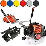 Timbertech� MS49-2TL-orange Petrol Brush Cutter Grass Strimmer 52 ccm 3PS (Orange)by Timbertech�