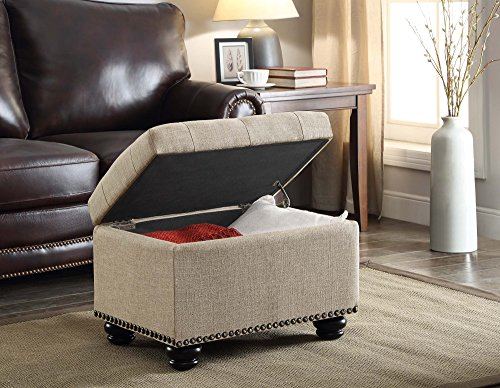Convenience concepts 5th avenue storage ottoman furniture for Furniture 5th avenue