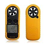 AODE® 2in1 Digital Wind Speed Measure Meter Gauge Anemometer NTC Thermometer Detector 100386