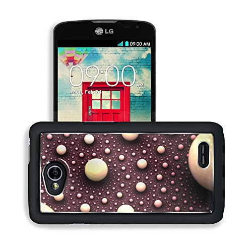 Artistic White Orbs Balls Lg Optimus L70 Dual D325 Snap Cover Premium Aluminium Design Back Plate Case Open Ports Customized Made To Order Support Ready 5 2/16 Inch (130Mm) X 2 12/16 Inch (70Mm) X 11/16 Inch (17Mm) Msd L70 Professional Cases Accessories G