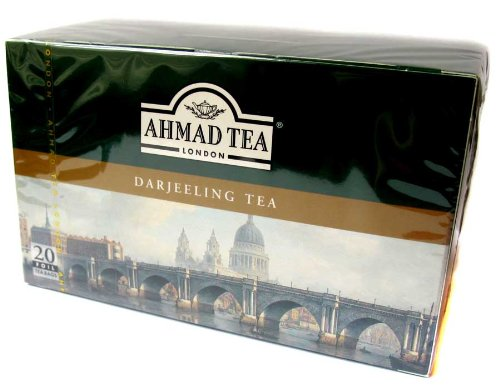 Ahmad Tea London Darjeeling - 20 Foil Tea Bags