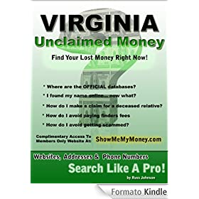 Virginia unclaimed money how to find free missing money for How to get money to buy land
