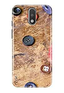 Noise Moto G, 4th Gen Designer Cover Case for / Moto G 4th Gen / G4 (4th Generation) / Graffiti & Illustrations / Cool Buttons Design