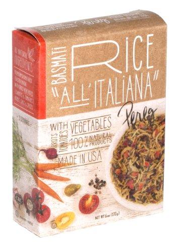 Pereg Gourmet Basmati Rice, Italian Style, 6-Ounce