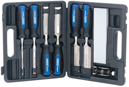 Draper Expert 88605 8-Piece Wood Chisel Set