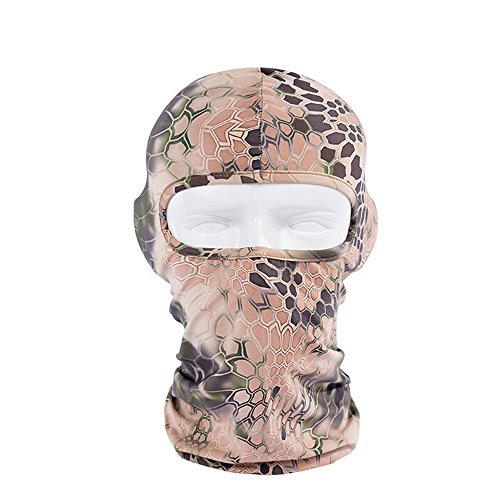 Ezyoutdoor Lycra Balaclava Full Face Mask for Motorcycle Bicycle Bike Snowmobile Longer Hood Neck Hat Outdoor Sport Cosply Costume (Homemade Ariel Costume)