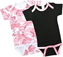 Pink Camo Onesie Gift Set for Girls!! - SHORT