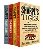 Bernard Cornwell Sharpe Four Book Set: Sharpe's Tiger, Sharpe's Triumph, Sharpe's Fortress, Sharpe's Trafalgar