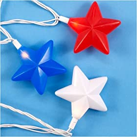 Electric Lights 4th of July Party Supplies