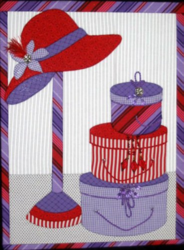 Artsi2 A2RDHTSY Red Hat Society Wall Hanging Kit
