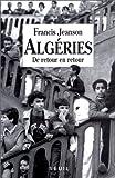 echange, troc Francis Jeanson - Algéries