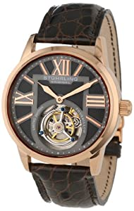 Stuhrling Original Men's 537.334XK54 Tourbillon Grand Imperium Limited Edition Mechanical Rose Tone Watch