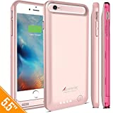 iPhone 6S Plus Battery Case, iPhone 6 Plus Battery Case, Alpatronix® [BX140plus] MFi Apple Certified 4000mAh Slim Protective Charging Case [Full Support with iOS 9+ for iPhone 6+, 6S+]