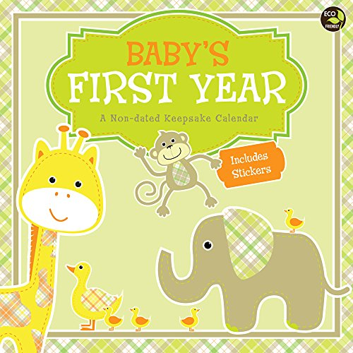 Baby's First Year: A Non-dated Keepsake Calendar