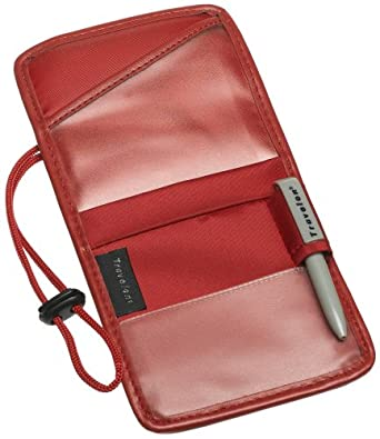 ID/Boarding Pass Holder - Many Colors (Red)