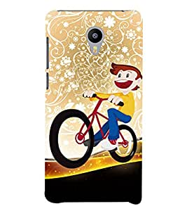 Beautiful Bicycle Raid 3D Hard Polycarbonate Designer Back Case Cover for Meizu M3 Note