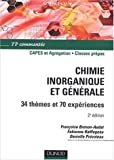 Chimie inorganique et g�n�rale, 1�re ann�e PCSI, 2e ann�e PC : TP comment�s