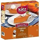 Katz Gluten Free Pumpkin Pie, 8.25 Ounce, Certified Gluten Free - Kosher - Dairy, Nut & Soy free - (Pack of 1)
