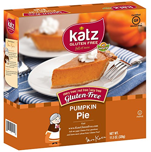 Katz Gluten Free Pumpkin Pie, 8.25 Ounce, Certified Gluten Free - Kosher - Dairy, Nut & Soy free - (Pack of 1) (Pot Pie Noodles compare prices)