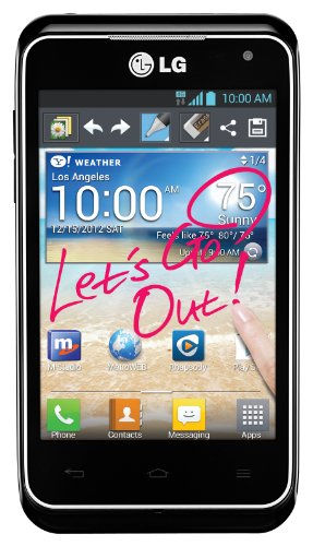 LG Motion 4G LTE Prepaid Android Phone (MetroPCS)
