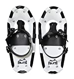 ALPS Light Weight Snowshoes for Kids, Boys & Girls Includes Snowshoes Carrying Tote Bag