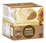 Nescaf Dolce Gusto Cafe au Lait, 3er...