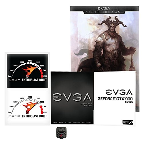 EVGA GeForce GTX 970 4GB SC GAMING ACX 2.0, 26% Cooler and 36% Quieter Cooling Graphics Card 04G-P4-2974-KR