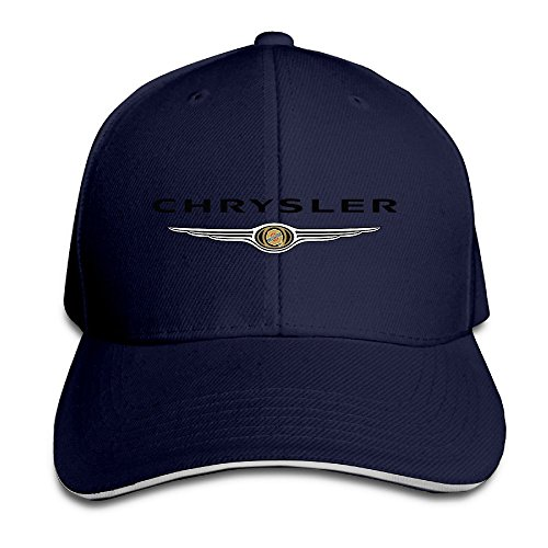 xcarmen-runy-chrysler-logo-adjustable-hunting-peak-sandwich-hat-cap-navy