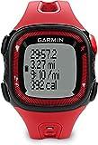 Garmin Forerunner 15 GPS Running con Funzione Contapassi, Misura Large, Rosso/Nero