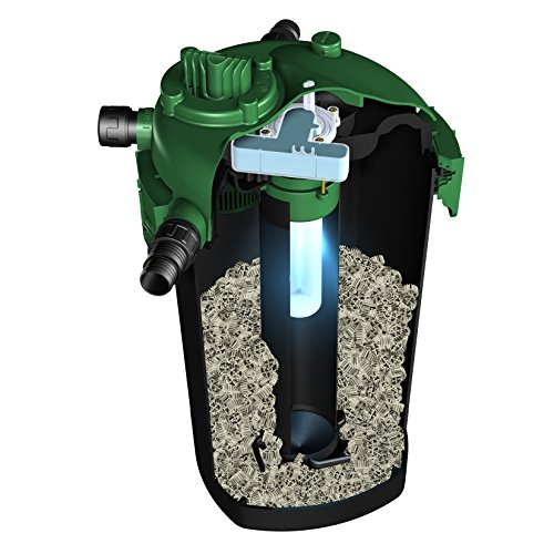 Tetrapond bio active pressure filters bp2500 uv home for Uv pond filters for sale